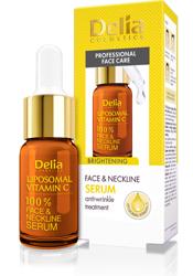 Delia Rozjaśniające serum do twarzy z liposomalną witaminą C 10ml