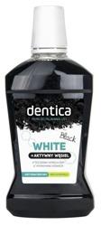 Dentica Black White Aktywny Węgiel Płyn do higieny jamy ustnej 500ml