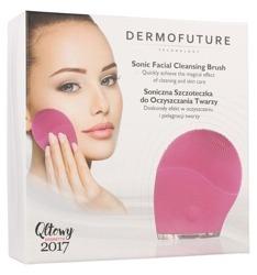 DermoFuture Szczoteczka Soniczna do oczyszczania twarzy Różowa
