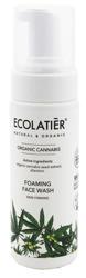 ECOLATIER Organic Cannabis pianka do mycia twarzy 150ml