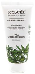 ECOLATIER Organic Cannabis żel do mycia twarzy 100ml