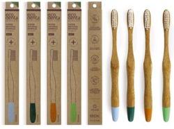 EcoDenta szcoteczka do zębów Bambusowa MEDIUM 1szt