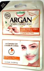 Equilibra ARGAN  Arganowa maseczka przeciwstarzeniowa  2x7,5 ml