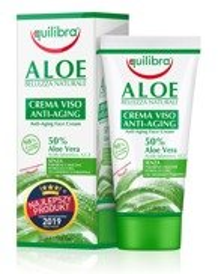 Equilibra Aloe Przeciwstarzeniowy krem do twarzy Anti-Aging 50% 50ml