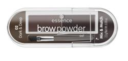 Essence Brow Powder Set Paleta cieni do brwi 02 dark&deep