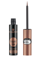 Essence Liquid Ink Eyeliner Waterproof Wodoodporny eyeliner w płynie BROWN 3ml