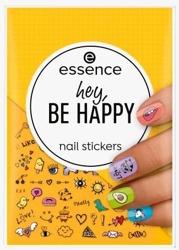 Essence Nail Stickers HEY BE HAPPY Naklejki do paznokci 57szt.