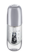 Essence Shine Last&Go! Żelowy lakier do paznokci 01 Absolute Pure 8ml
