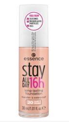 Essence Stay All Day 16h Foundation - Długotrwały podkład 20 Soft Nude , 30 ml