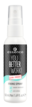 Essence You Better Work FIXING SPRAY Spray utrwalający 50ml