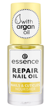 Essence nail RAPAIR NAIL OIL with argan oil Olejek naprawczy do paznokci 8ml