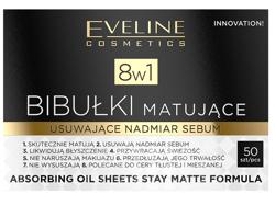 Eveline Cosmetics Bibułki matujące 8w1 50szt