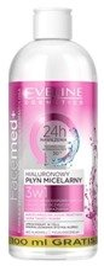 Eveline Cosmetics Facemed+ Hialuronowy płyn micelarny 3w1 500ml