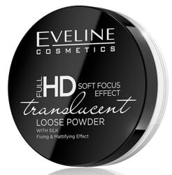 Eveline Cosmetics Full HD Translucent Utrwalający i matujący puder sypki 6g