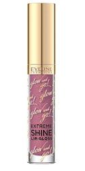 Eveline Cosmetics Glow&Go Extreme Shine Lip Gloss Błyszczyk do ust 08 Dreamy Purple 4,5ml