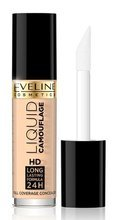 Eveline Cosmetics Liquid Camouflage HD Kryjący korektor do twarzy 01 Light 5ml