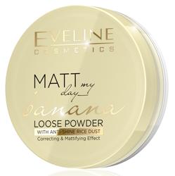 Eveline Cosmetics Matt My Day Banana Sypki puder bananowy 6g