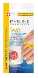 Eveline Cosmetics Nail Therapy 9w1 Total Action Odżywka do paznokci stóp 12ml