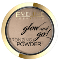 Eveline Glow&GO Bronzing Powder Wypiekany puder bronzujący 01 Go Hawaii 8,5g