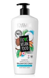 Eveline I LOVE VEGAN FOOD balsam do ciała Kokos/Olej migdałowy 350ml