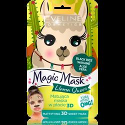 Eveline Magic Mask maska w płacie 3D Llama Queen
