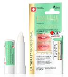 Eveline SOS EXPERT +Care Intensywnie regenerujący balsam do ust