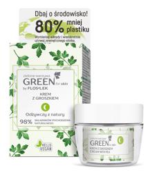 FlosLek GREEN for Skin odżywczy krem do twarzy z groszkiem na noc 50ml