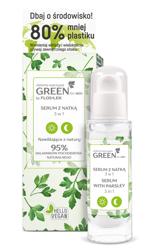FlosLek GREEN for Skin serum do twarzy z Natką 3w1 30ml