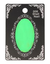 Folia na paznokcie Efekt rozbitego szkła Zielona