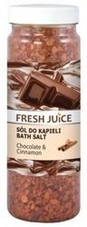 Fresh Juice sól do kąpieli Chocolate&Cinnamon 700g