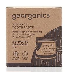 GEORGANICS Mineralna pasta do zębów w słoiku Activated Charcoal 60ml