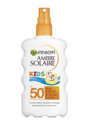 Garnier Ambre Solaire UV Spray KIDS SPF50 Spray ochronny dla dzieci 200ml