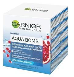 Garnier Aqua Bomb Regenerujący żel-krem do twarzy na noc 50ml