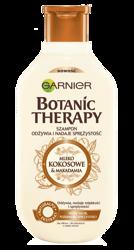 Garnier Botanic Therapy Mleko kokosowe i Makadamia Szampon do włosów suchych i zniszczonych 250ml