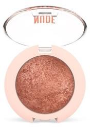 Golden Rose Nude Look Pearl Baked Eyeshadow Wypiekany perłowy cień do oczu 02