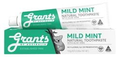 Grants of Australia Mild Mint Łagodząca naturalna pasta do zębów 110g