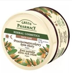 Green Pharmacy Przeciwzmarszczkowy krem tłusty Argan 150ml