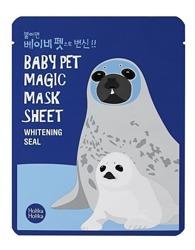 Holika Holika Baby Pet Magic Mask Sheet Whitening Seal - Maseczka do twarzy