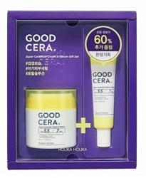 Holika Holika Good Cera Super Ceramide Cream in Serum Gift Set Zestaw z kremem nawilżającym o dwóch pojemnościach 50ml + 30ml