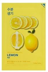 Holika Holika Mask Sheet Pure Essence Lemon - Maseczka do twarzy w płachcie z ekstraktem z cytryny 20ml