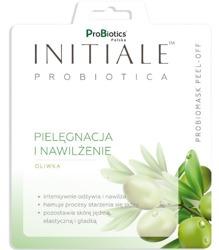 INITIALE Probiotica Maska peel-off Pielęgnacja i nawilżenie Oliwka 12g