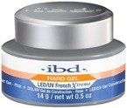 Ibd Hard Gel Builder LED/UV French Xtreme Rose Żel budujący 14g