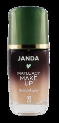 JANDA Matujący make-up fluid fleksyjny 03 Beż 30ml