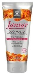 Jantar Duo-maska z wyciągiem z bursztynu do włosów bardzo zniszczonych 200ml