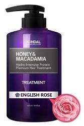 KUNDAL Honey&Macadamia Treatment ENGLISH ROSE Odżywka do włosów Angielska róża 500ml