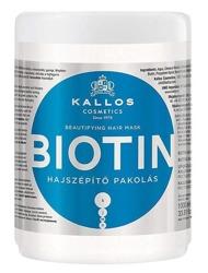 Kallos Biotin Maska upiększająca do włosów 1000ml