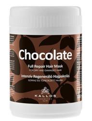 Kallos Chocolate Full Repair Hair Mask Czekoladowa maska naprawcza do włosów, 1000 ml