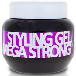 Kallos Mega Strong Styling Gel - Żel do stylizacji włosów 275ml