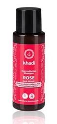 Khadi Szampon odżywczy Rose do włosów suchych 30ml