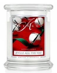 Kringle Candle Classic Jingle All The Way Słoik świeca średnia 411g